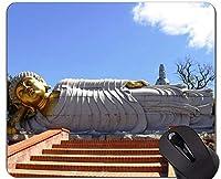 賭博のマウスパッド、ステッチ端が付いているポルトガルの仏像の彫刻のマウスパッド