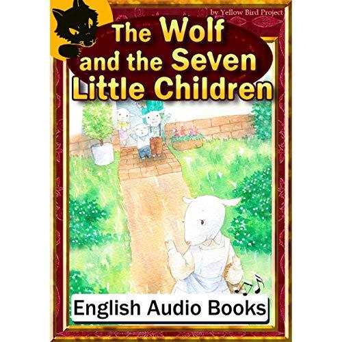 『The Wolf and the Seven Little Children(オオカミと七ひきの子ヤギ・英語版)』のカバーアート
