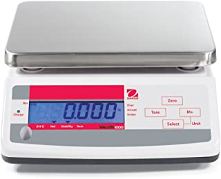 Ohaus 83998127 Valor ABS Compact Precision Scale, with Single Display, 6000g x 1g