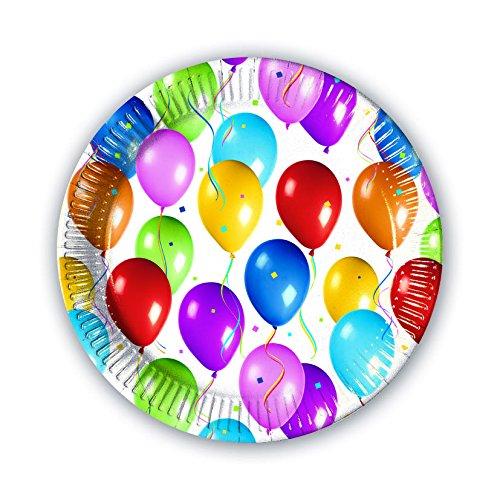 Procos 02356 – bordpapier Balloons Fiesta, meerkleurig
