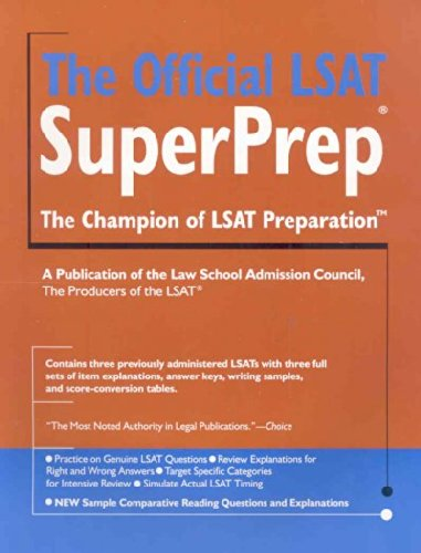 The Official LSAT SuperPrep., 2007 edition(Two thousand...