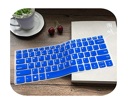 Protective Laptop Keyboard 14 Inches for Lenovo Ideapad S340 14Iwl S340 14Iwl 14 Inches S 340 S340 14 / S540 S540 14Iwl-Blue