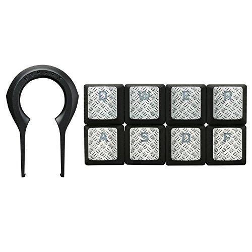 HyperX FPS & MOBA Gaming Keycaps Upgrade Kit (Titanium) - HXS-KBKC2