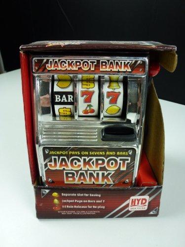 Salvadanaio a forma di gioco macchina Jackpot