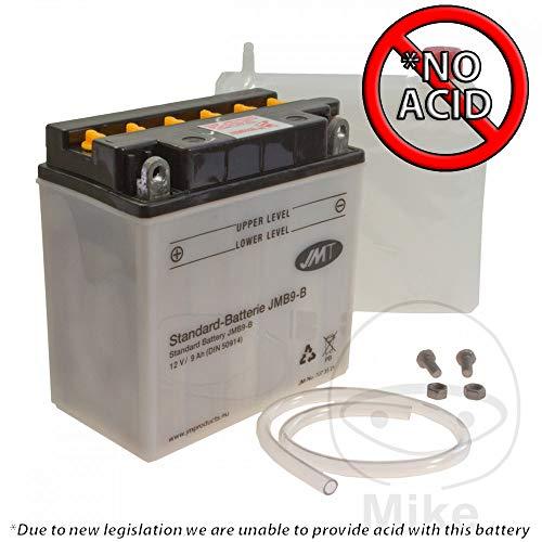 JMT batterij YB9-B - 12 volt - 707.35.21 - incl. wettelijke garantie voor de accu (EUR7,50) -