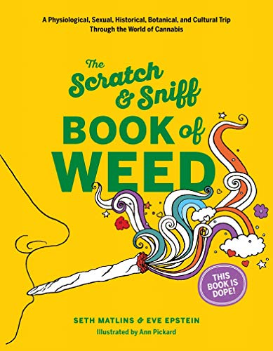 Scratch & Sniff Book of Weed: That Was Then Enterprises