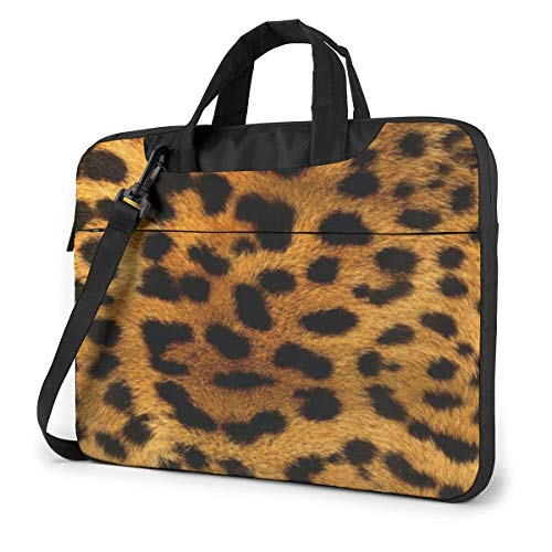 Laptop Tote Bag, Cheetahs Fur Protective Laptop Sleeve Case with Handle Fits 13-15.6in Laptop for Men