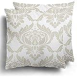 Dekokissen Fall Muster Damast Klassische Luxus Old Fashioned Royal Victorian Für Exquisite Floral...