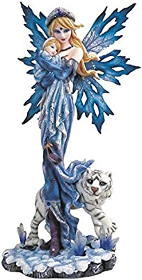 StealStreet Blue Fairy with Unicorn And Butterfly Collectible Figurine Statue GSC SS-G-91468