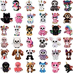 Random 5 pack supplied. Guaranteed no duplicates Makes a great gift & is perfect for schools, party favors, stocking fillers, baskets, camps, collectables and so much more! Official products from Ty's wildly popular Beanie Boos Collection, handmade o...