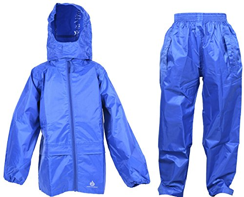 Dry Kids wasserdichte Anzug - Blau - 11/12 Jahre