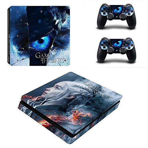Thrones - PS4 Skin Console - PS4 Controller Skin Cover Vinyl Decal Protective by Babita Dogra