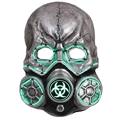 Seasons Light-Up Gas Mask, Halloween Costumes Accessory, for Adults, One Size