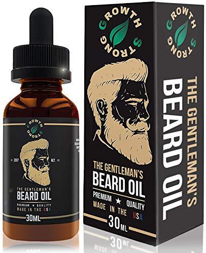 Organic Beard Oil Growth