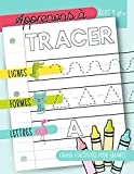 Apprenons à tracer - Lignes Formes Lettres : Cahier d'activités pour enfants : Âges 3 et +: Un cahier de graphisme pour jeunes enfants débutants pour ... et les tout-petits (âgés de 3 à 5 ans)