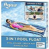 Aqua 3-In-1 Roll-Up Pool Float