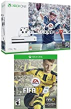 Xbox One S 1TB Console - Madden NFL 17 Bundle and FIFA 17