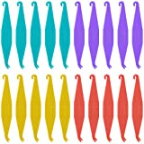 20 Pcs Dental Elastic Rubber Bands Placers for Braces, Disposable Plastic Orthodontic Elastic Placers Multi-color
