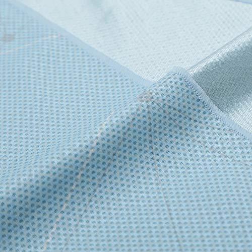日本製-SUPERCOOLINGTOWELAir.スーパークーリングタオルエアー高冷却タオル(吸水発冷/吸熱放熱/遮熱/紫外線カット)ポリゴナル-幾何学模様
