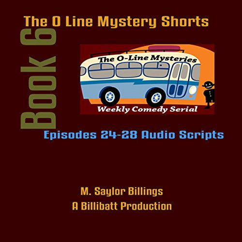 The O Line Mystery Shorts, Book 6 audiobook cover art