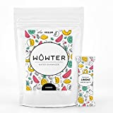 WOWTER by AMZ BETTER, Bebida Instantánea, 12 Sobres de Polvo Soluble Sabor Limón para Aromatizar el Agua, Sin Calorías, Sin OGM, Sin gluten, Sin azúcares, Made in Italy, 48 g