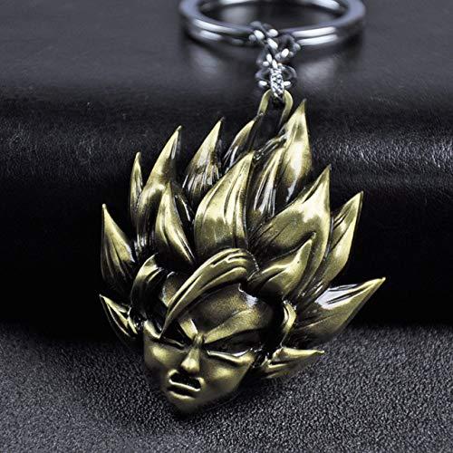 Bosi General Merchandise Dragon Ball, Figura de acción, Super Saiyan, Goku, creación de aleación, Vegeta, Llavero de Dragon Ball, Regalo de Juguete