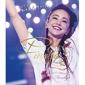"namie amuro Final Tour 2018 ~Finally~ (東京ドーム最終公演+25周年沖縄ライブ)(Blu-ray Disc2枚組)(通常盤)"""