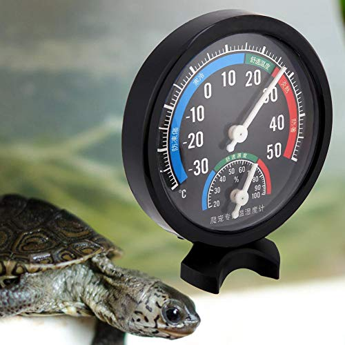 2 in 1 Reptilien Thermometer Aquarium Schildkröten Hygrometer Display Terrarien Brutapparate