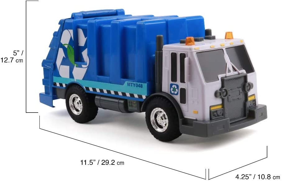 MIGHTY FLEET RECUCE Force Tough CAB Ambulance Toy