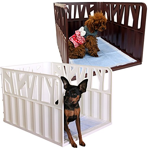 iDogアイドッグRestRoomGROVEグローブ愛犬のためのインテリアトイレウォームホワイト犬トイレ