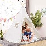 YOLEO Kinderzelt Tipi Spielzelt für Kinder Kinderzimmer Zelt Kinder Geschenke Zelt Indianerzelt -...
