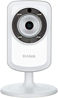 D-Link DCS-932L Cámara WiFi y Ethernet Videovigilancia IP (Micrófono y Visión Nocturna Compatible con App Mydlink para iOS y Android)