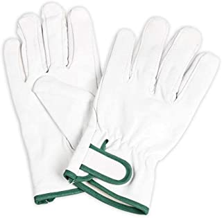 LULUD White Gloves, Protective Gloves, Wear-Resistant Anti-Skid Welding, Oil-proofing, Industrial Loading and Unloading, L...