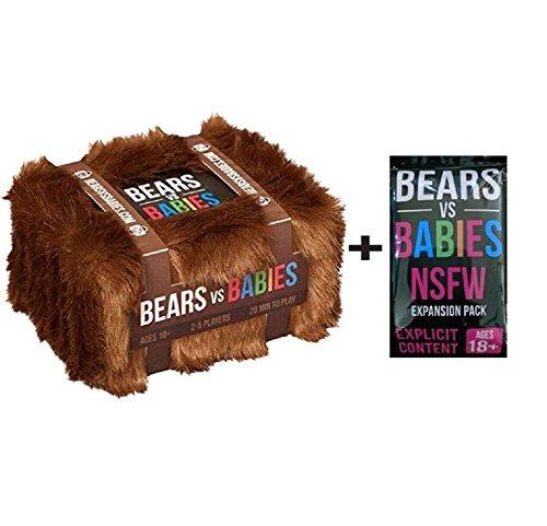 Cenblue® Bears vs Babies Kartenspiel-Kits: Ein Kartenspiel von den explodierenden Kätzchen für Party