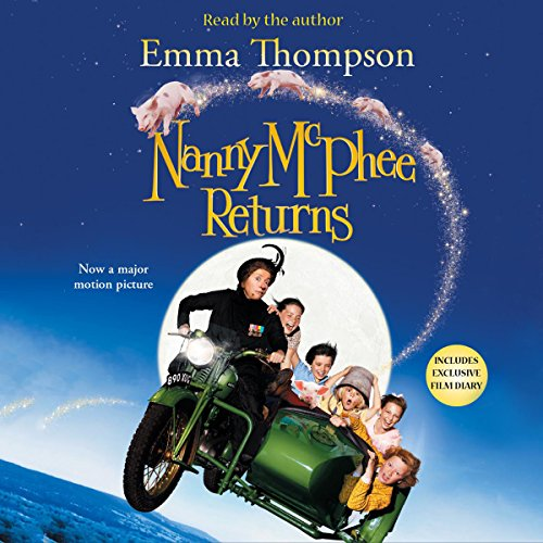 Nanny McPhee Returns audiobook cover art