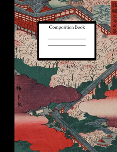 Aesthetic Artsy Composition Notebook: 100 Pages. 7.44 x 6.69 Standard Size, Composition Book for Teacher, Students, Kids and Teens. (Aesthetic Notebooks, Band 4)