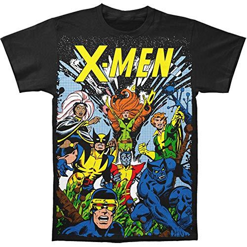 X-Men Marvel Comics The Gang Big Print Subway playera