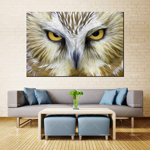 N / A Schönheit Leinwand Malerei Wandbild hochauflösende Bild Eule Inkjet wasserdichte Tinte Hauptdekoration
