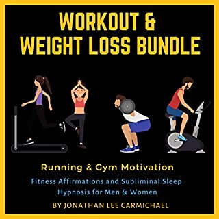 Workout & Weight Loss Bundle: Running & Gym Motivation audiobook cover art