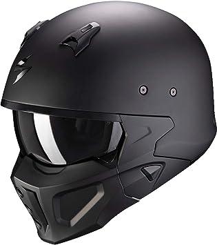 Scorpion Herren Nc Motorrad Helm Schwarz L Auto