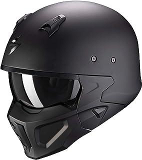 Scorpion Herren NC Motorrad Helm, Schwarz, L