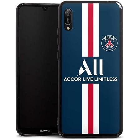 DeinDesign Coque Compatible avec Huawei Y6 (2019) Étui Housse Paris Saint-Germain Produit sous Licence Officielle PSG