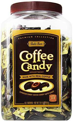 Bali's Best Assorted Coffee Candy Jar - 2lb 5oz