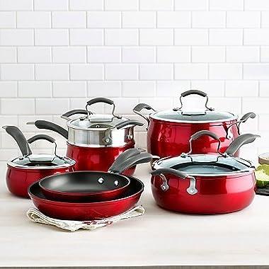 Epicurious 11-pc. Aluminum Nonstick Cookware Set
