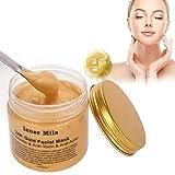 Máscara facial de oro de 24 quilates para eliminar puntos negros, mascarilla de limpieza profunda,...