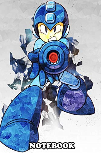Notebook: Mega Man , Journal for Writing, College Ruled Size 6' x 9', 110 Pages