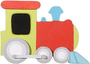 Darice 9199-11 Layered Natural Painted Wood Cutout, Train