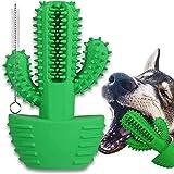 Juguetes para Perros, 360° Cepillo de Dientes Juguete Interactivos para Mordedor Perro, Limpiador de Masticar Cuidado Perro para Cachorros de Medianos (se Adapta