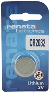 CR2032 Lithium Coin Cells - Strip of 5 Batteries