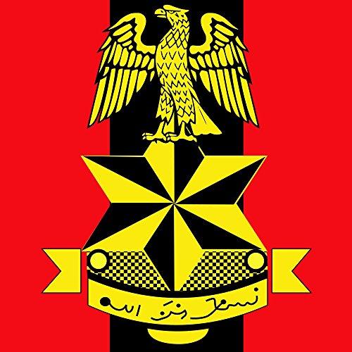 magFlags Drapeau Large Nigerian Army Headquarters | 1.35m² | 120x120cm